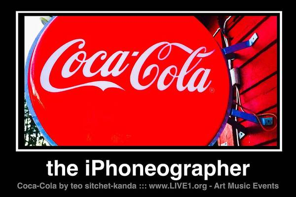 Photograph - Coca-cola by Teo SITCHET-KANDA