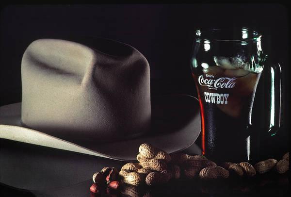 Thirst Photograph - Coca Cola Cowboy by David and Carol Kelly