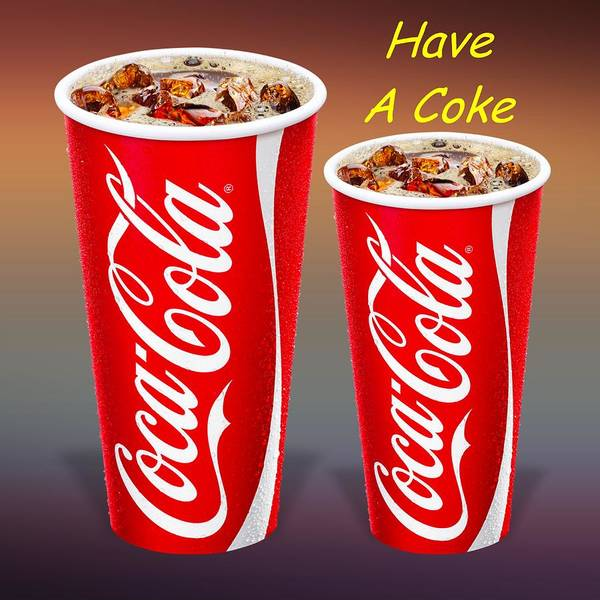 Digital Art - Coca Cola Customized  by Movie Poster Prints