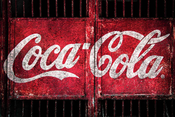 Photograph - Coca Cola Gate by Michael Arend
