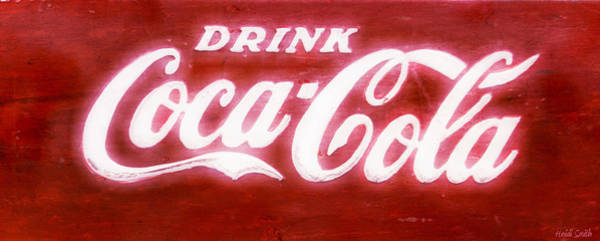 Coca Cola Photograph - Coca Cola by Heidi Smith