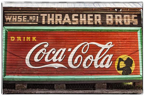 Cedar Key Photograph - Coca Cola by Jurgen Lorenzen