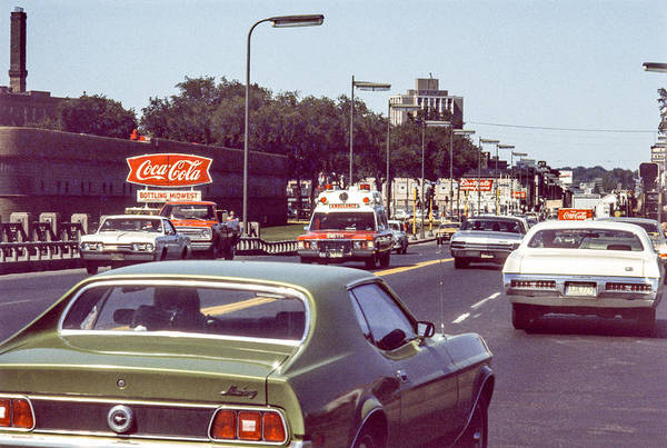 Photograph - Coca Cola Plant On Central Ave by Mike Evangelist