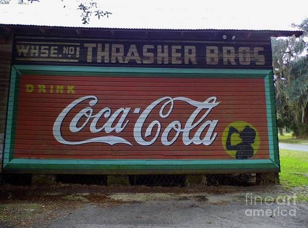 Photograph - Coca Cola Sign by D Hackett