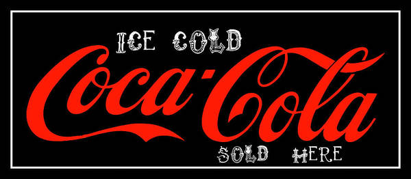 Pemberton Photograph - Coca-cola Sold Here 5 The Thirst Quencher Art by Reid Callaway