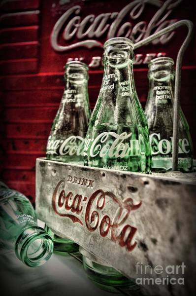 Wall Art - Photograph - Coca Cola Vintage 1950s by Paul Ward