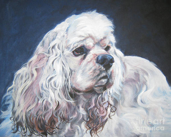 Cocker Spaniel Painting - Cocker Spaniel  1 by Lee Ann Shepard