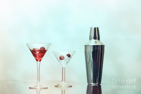 Cocktail Shaker Photograph - Cocktail Bar by Amanda Elwell