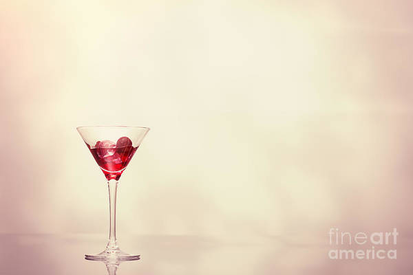 Wall Art - Photograph - Cocktail In Art Deco Glass by Amanda Elwell