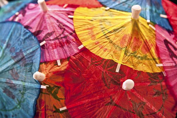Adorn Photograph - Cocktail Umbrellas V by Tom Mc Nemar