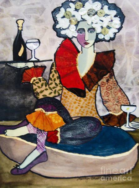 Painting - Cocktails, Anyone? by Marilyn Brooks