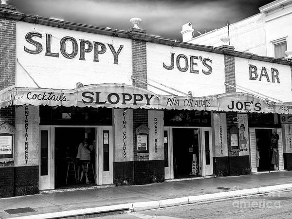 Photograph - Cocktails At Sloppy Joe's Key West by John Rizzuto