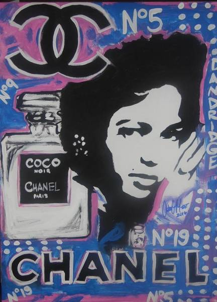 Painting - Coco Dandridge by Antonio Moore