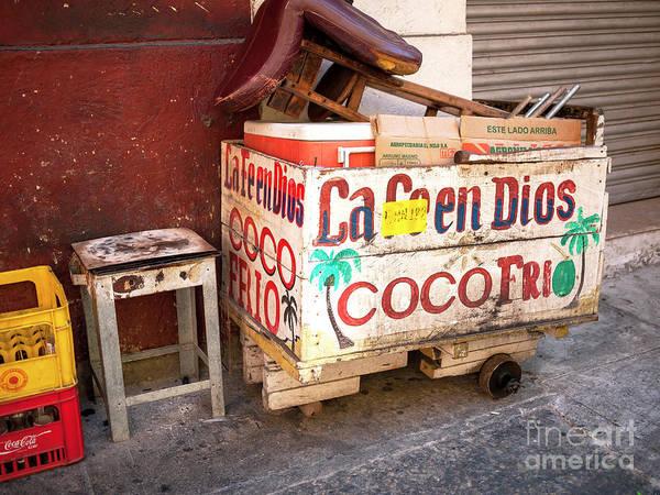 Photograph - Coco Frio In Cartagena by John Rizzuto