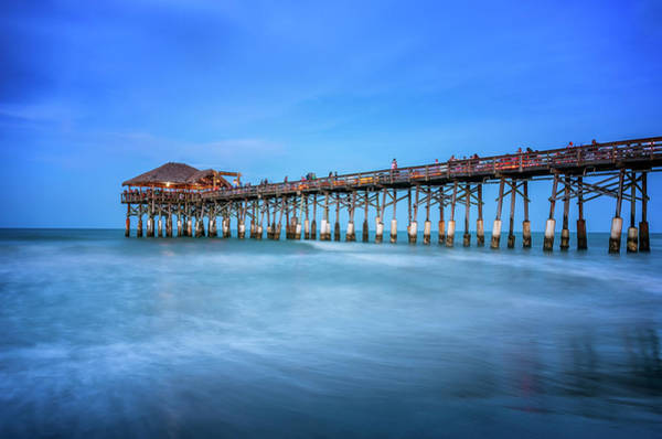 Photograph - Cocoa Beach Pier by Ryan Wyckoff