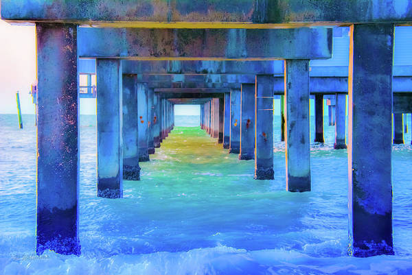 Photograph - Cocoa Pier by Pamela Williams