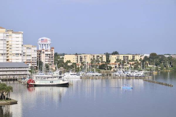 Photograph - Cocoa Village Marina With Indian River Queen by Bradford Martin