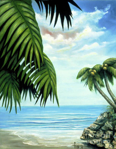 Wall Art - Painting - Coconut Cove by Beverly Fuqua