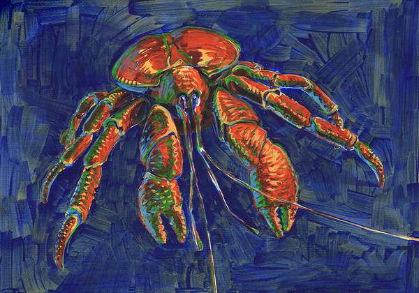 Painting - Coconut Crab by Judith Kunzle
