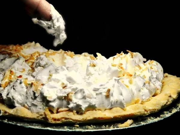 Wall Art - Photograph - Coconut Cream Pie by Diana Angstadt