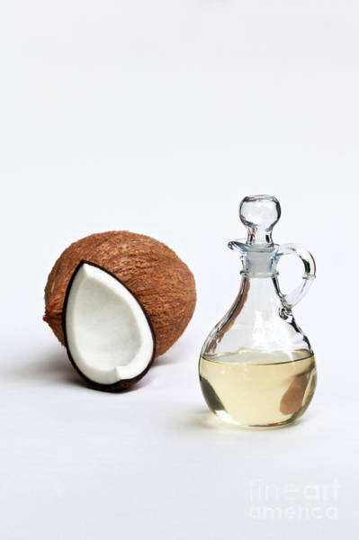 Liquify Photograph - Coconut Oil In Glass Carafe by Inga Spence