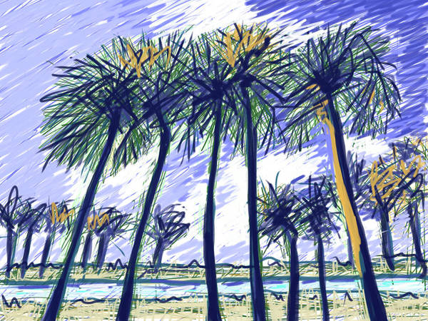 Painting - Coconut Point by Jean Pacheco Ravinski