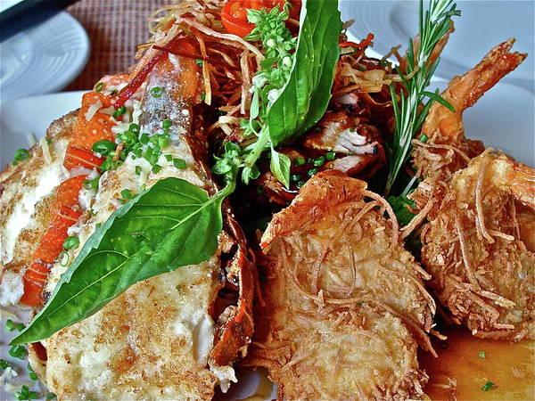 Photograph - Coconut Shrimp by Diana Hatcher