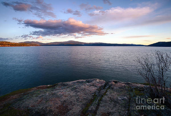 Wall Art - Photograph - Coeur Dalene Evening by Idaho Scenic Images Linda Lantzy