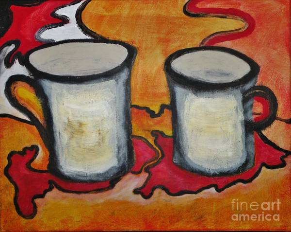 0 Painting - Coffee 2.0 by Michael Stanley