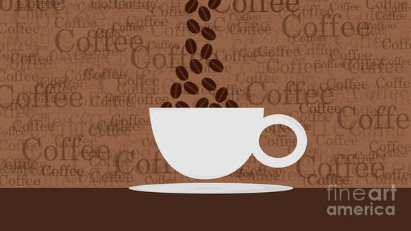 Coffee #3 Art Print