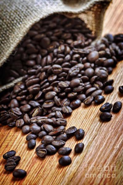 Photograph - Coffee Beans by Elena Elisseeva
