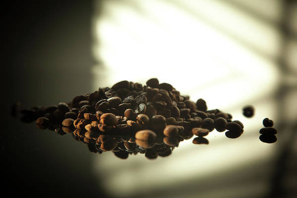 Photograph - Coffee Beans by Eric Christopher Jackson