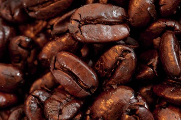 Photograph - Coffee Beans by Kyle Lee