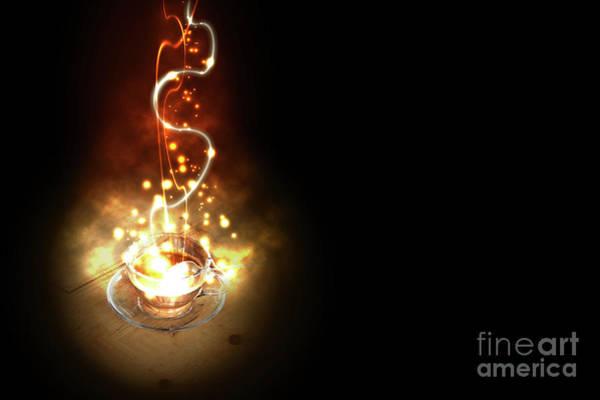 Digital Art - Coffee by Benny Marty