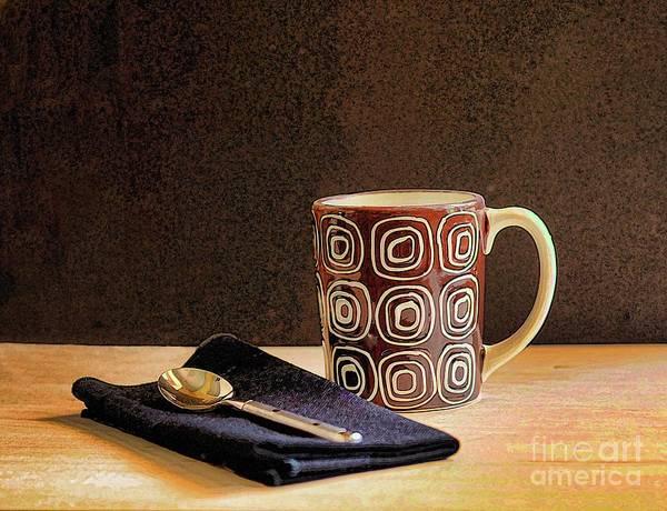 Coffee Mug Photograph - Coffee Break by Arnie Goldstein