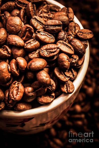 Wall Art - Photograph - Coffee Cup Top Up by Jorgo Photography - Wall Art Gallery