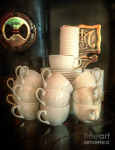 Photograph - Coffee Cups by Craig J Satterlee