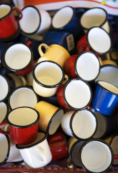 Photograph - Coffee Cups by Marilyn Hunt