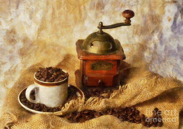 Photograph - Coffee Grinder by Ian Mitchell