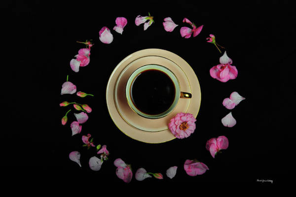 Photograph - Coffee In A Circle by Randi Grace Nilsberg