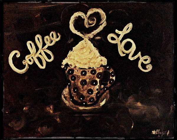 Painting - Coffee Love by Sherry Flaker
