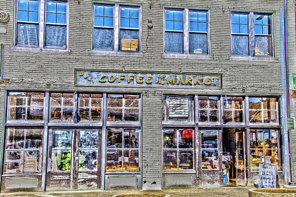 Photograph - Coffee Market by William Norton