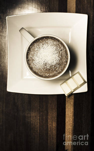 Photograph - Coffee Mocha Cup With White Chocolate by Jorgo Photography - Wall Art Gallery