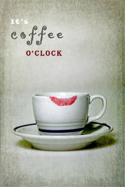 Wall Art - Photograph - Coffee O'clock by Joana Kruse