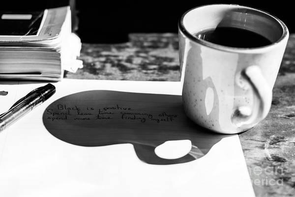 Coffee Poetry Art Print