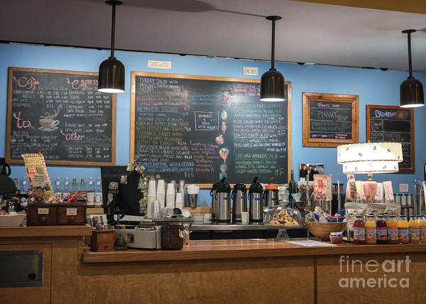 Photograph - Coffee Shop Winona Minnesota by Kari Yearous