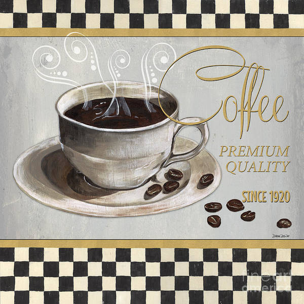 Cafes Wall Art - Painting - Coffee Shoppe 1 by Debbie DeWitt