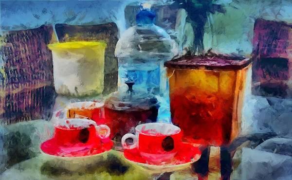 Digital Art - Coffee Stuff by Caito Junqueira