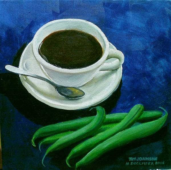 Painting - Coffee by Tim Johnson