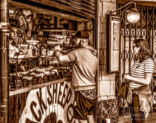 Photograph - Coffee Time At The Station. by Nigel Dudson